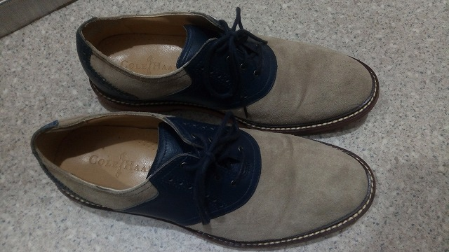 コールハーンの革靴
