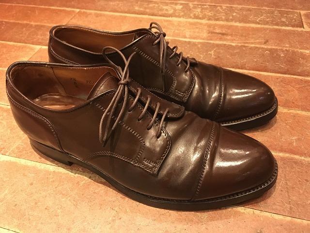 オールデンの革靴