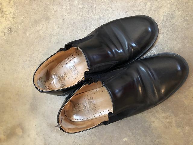 ドクターマーチンの革靴