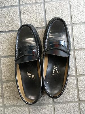 ハルタのローファー革靴