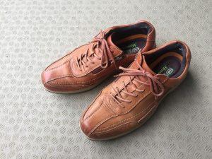 ホーキンスの革靴